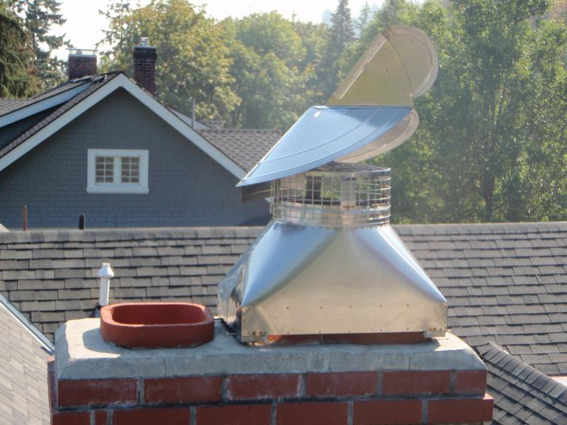 Wind directional chimney cap